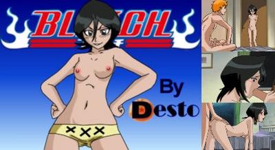 Bleach - Rukia and Ichigo Hentai Video